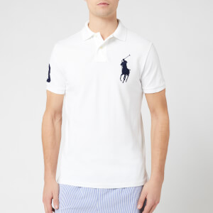 Polo Ralph Lauren Men's Large Logo Polo Shirt - White