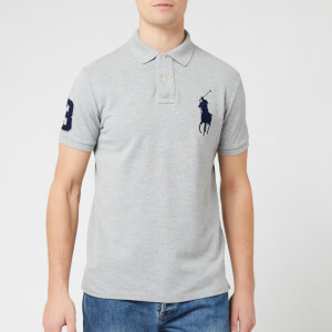 Polo Ralph Lauren Men's Large Logo Polo Shirt - Andover Heather