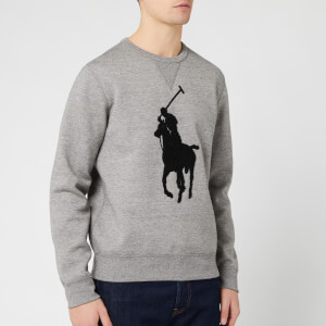 Polo Ralph Lauren Men's Large Logo Sweatshirt - Battalion Grey Heather