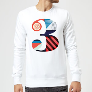3 Sweatshirt - White