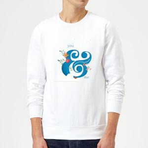 You & Me Sweatshirt - White