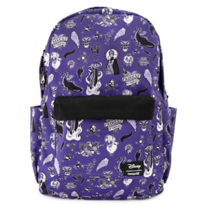 Loungefly Villain Icons AOP Nylon Backpack