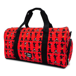 Loungefly Mickey Parts AOP Nylon Duffle Bag