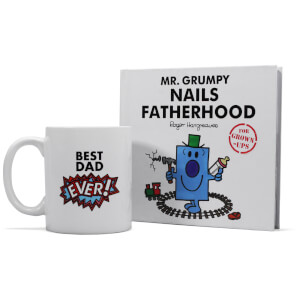 Mr. Men Mr. Grumpy Book and Mug Gift Set - Fatherhood