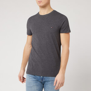 Tommy Hilfiger Men's Slim Fit T-Shirt - Charcoal Heather