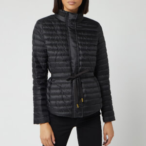MICHAEL MICHAEL KORS Women's Belted Packable Puffer Jacket - Black