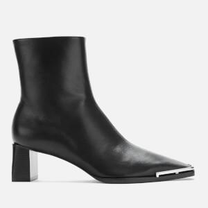 Alexander Wang Women's Mascha Low Black Nappa Boots - Black