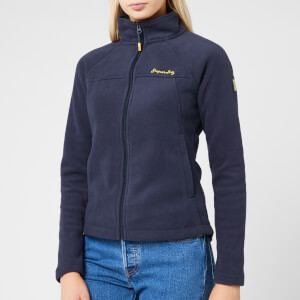 Superdry Women's Storm Urban Fleece Jacket - French Navy