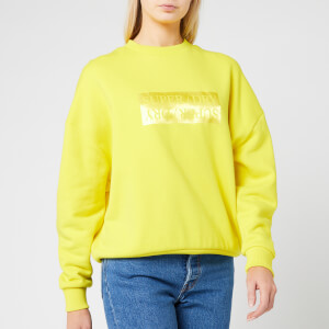 Superdry Women's Edit Slouchy Crew Neck Sweatshirt - Dry Meadow