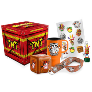 Caja de Merchandising Crash Bandicoot
