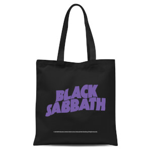Black Sabbath Tote Bag - Black