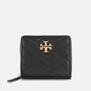 Tory Burch Women's Kira Chevron Bi-Fold Wallet - Black