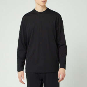 Y-3 Men's Classic Chest Long Sleeve T-Shirt - Black
