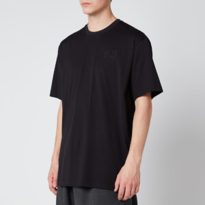 Y-3 Men's Classic Chest Short Sleeve T-Shirt - Black