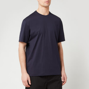 Y-3 Men's Black Logo Short Sleeve T-Shirt - Legend Ink