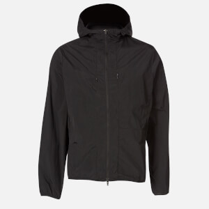 Y-3 Men's Travel Cross Dyed Nylon Parka - Black