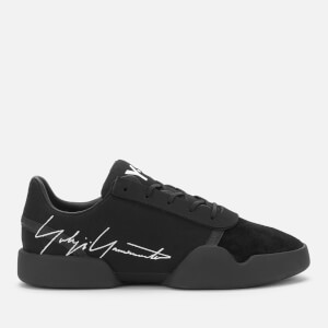 Y-3 Men's Yunu Trainers - Black/White/Black