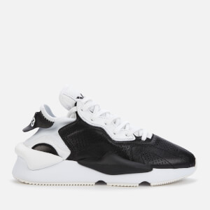 Y-3 Men's Kaiwa Trainers - Black/White/Black