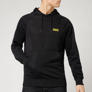 Barbour International Men's Pop Over Hoodie - Black