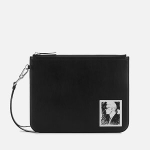 Karl Lagerfeld Legend Collection Women's Karl Legend Luxury Clutch Bag - Black