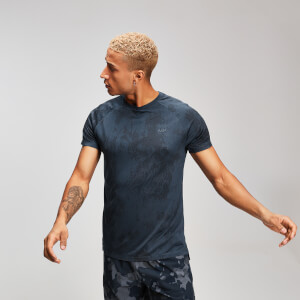 T-shirt Distressed MP pour homme - Encre