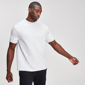 MP Graphic Men's Sleeve Logo T-Shirt - Chrome