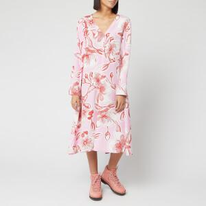 Stine Goya Women's Miri Jasmine Silk Dress - Pink