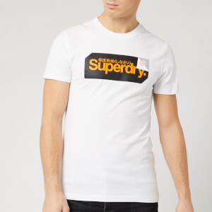 Superdry Men's Core Logo Tag T-Shirt - Optic