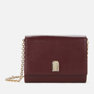 Furla Women's 1927 Mini Cross Body Bag - Burgundy