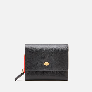 Lulu Guinness Women's Lip Pin Jodie Wallet - Black