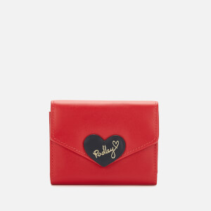 Radley Women's I Love You Small Trifold Cardholder - Ladybug