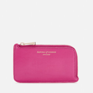 Aspinal of London Women's Small Zip Coin Purse - Penelope Pink
