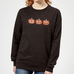 Pumpkins Women's Sweatshirt - Black