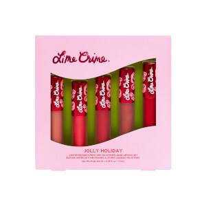 Lime Crime Jolly Daze - 5 Piece Mini Velvetines Set 8.5ml