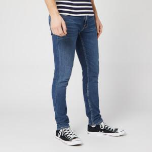 Nudie Jeans Men's Lin Skinny Jeans - Dark Blue Navy