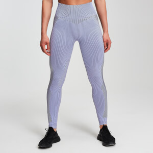 Leggings MP Seamless Contrast da donna - Wisteria