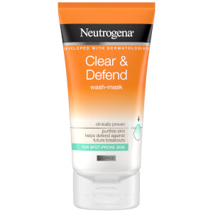 Clear & Defend 2 in 1 Wash-Mask