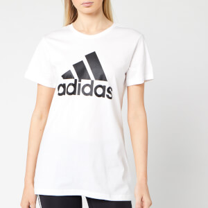 adidas Women's BOS Co Short Sleeve T-Shirt - White