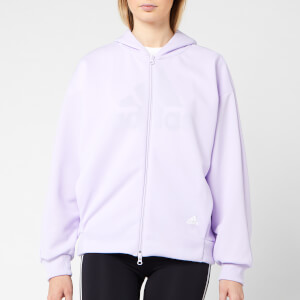 adidas Women's MHE Hoodie - Purple Tint
