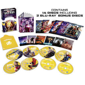 Marvel Studios Collector's Edition Box Set - Phase 3 Part 2 - 4K Ultra HD
