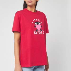 KENZO Women's Comfort T-Shirt Back from Holiday - Deep Fuchsia