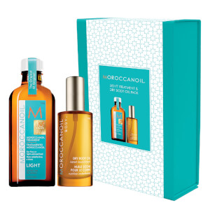 Moroccanoil Light Treatment & Dry Body Oil Pack (Worth $93.90)