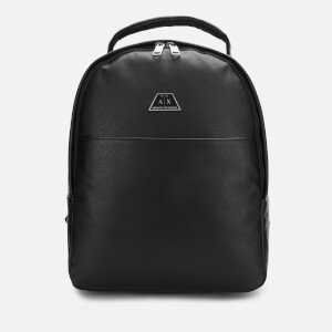 Armani Exchange Men's Elevated Backpack - Black