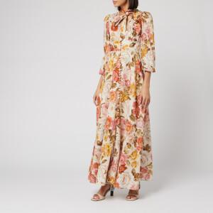 Zimmermann Women's Bonita Long Sleeve Dress - Cream Floral