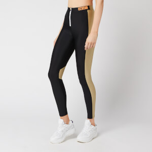 P.E Nation Women's Level Up Leggings - Black/Sponge