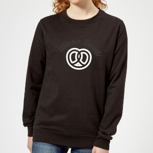 Oktoberfest Wiesn Gaudi Women's Sweatshirt - Black