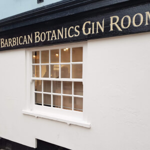 Gin Flight Self-Guided Tasting at Barbican Botanics Gin Room for Two