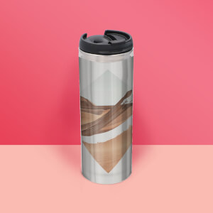 Strange Waves Thermo Insulated Travel Mug