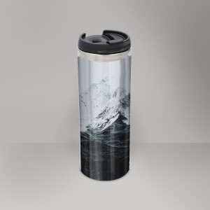 Those Waves Were Like Mountains Thermos Mug