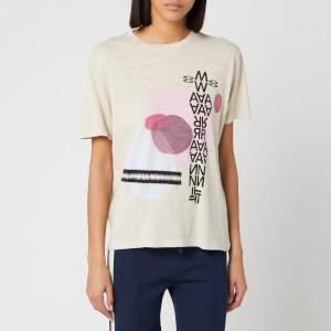 Isabel Marant Étoile Women's Pewela T-Shirt - Ecru